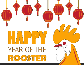 Happy Year of the Rooster!