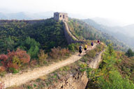 Camping at the Gubeikou Great Wall, 2015/10