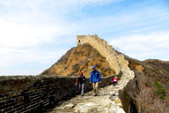 Gubeikou and Jinshanling Great Wall camping, 2017/3/25