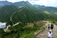 Walled Village to Huanghuacheng Great Wall , 2017/08/06