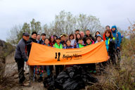Earth Day clean up hike at the Jiankou Great Wall, 2018/04/22