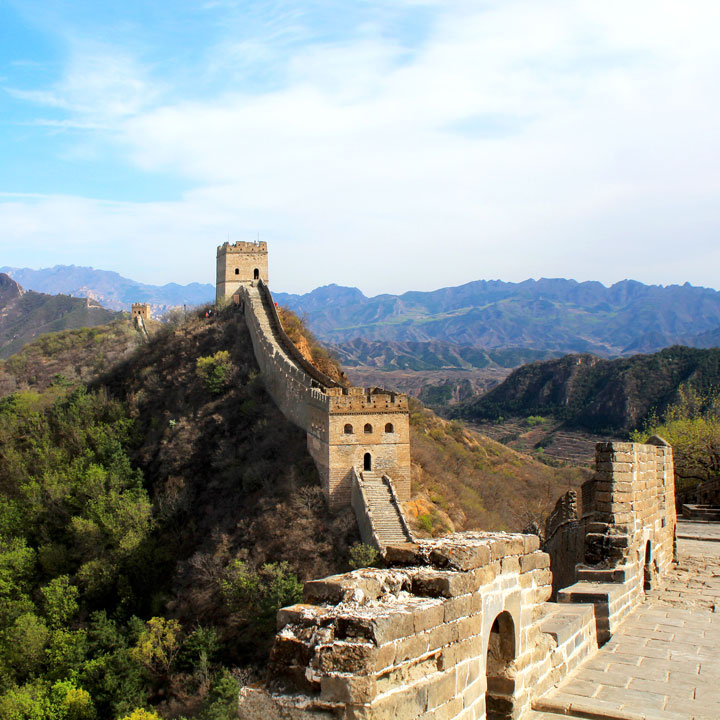Gubeikou to Jinshanling Great Wall East, 2019/04/18