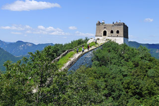 Jiankou to Mutianyu Great Wall, 2019/08/17