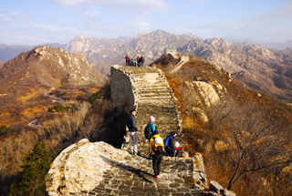 Longquanyu Great Wall to the Little West Lake, 2019/11/10