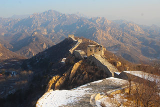Longquanyu Great Wall to the Little West Lake, 2019/12/28