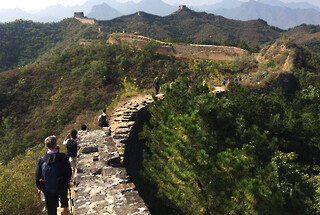 Hemp Village to Gubeikou Great Wall, 2020/10/03