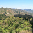 The towers of the main section of the Jinshanling Great Wall