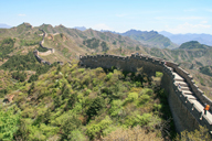 Looking out over the Jinshanling Great Wall