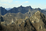 Views of the Great Wall at Jiankou
