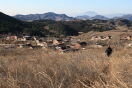 A view of Stonewall Village, nestled in the rolling hills of Miyun District