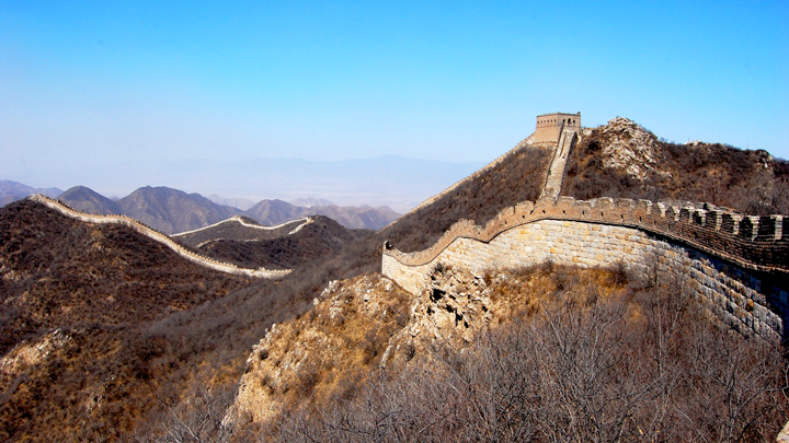 Long views of the Great Wall