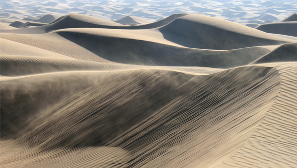 Dunes in the Alashan Desert