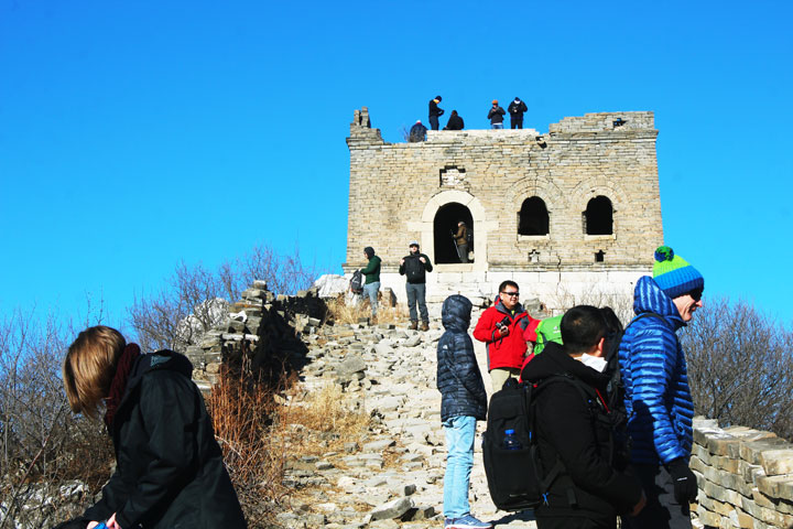 Great Wall Christmas Jiankou to Mutianyu Great Wall, 20108/12/25 photo #4