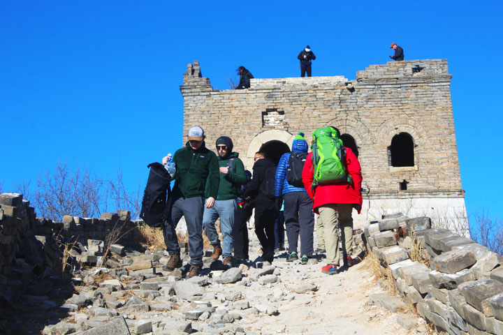 Great Wall Christmas Jiankou to Mutianyu Great Wall, 20108/12/25 photo #5
