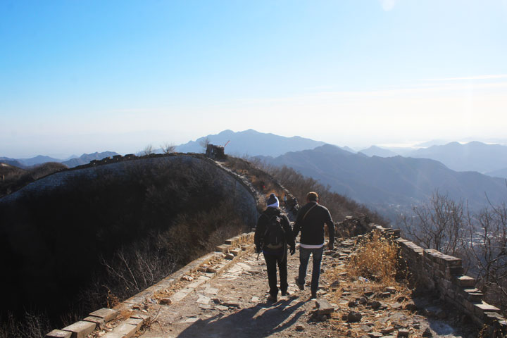Great Wall Christmas Jiankou to Mutianyu Great Wall, 20108/12/25 photo #9