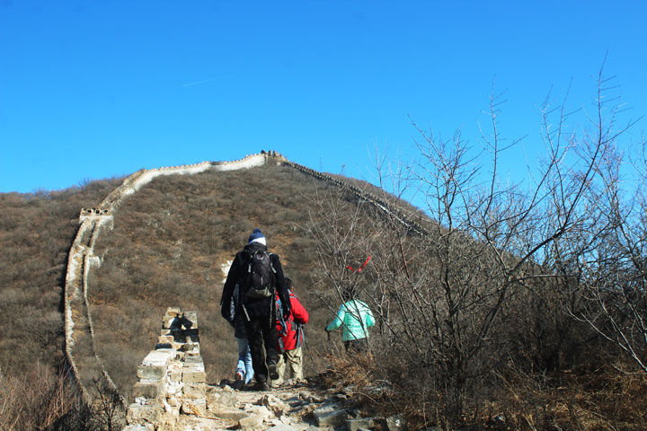 Great Wall Christmas Jiankou to Mutianyu Great Wall, 20108/12/25 photo #10