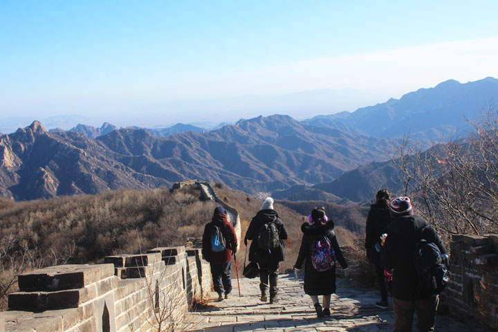 Great Wall Christmas Jiankou to Mutianyu Great Wall, 20108/12/25 photo #13