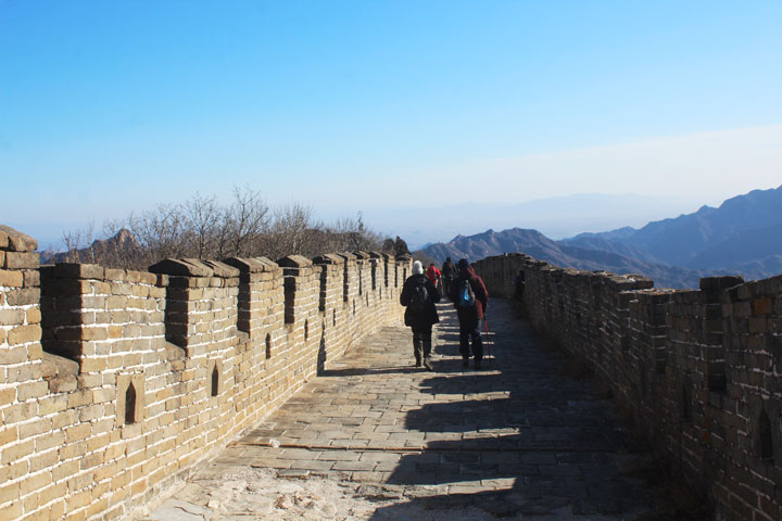 Great Wall Christmas Jiankou to Mutianyu Great Wall, 20108/12/25 photo #14