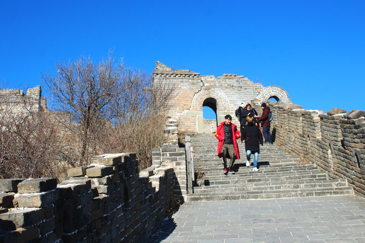 Great Wall Christmas Jiankou to Mutianyu Great Wall, 20108/12/25 photo #15
