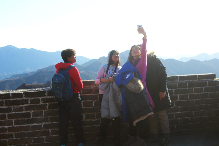 Great Wall Christmas Jiankou to Mutianyu Great Wall, 20108/12/25 photo #16
