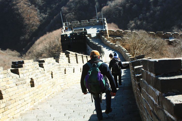 Great Wall Christmas Jiankou to Mutianyu Great Wall, 20108/12/25 photo #17