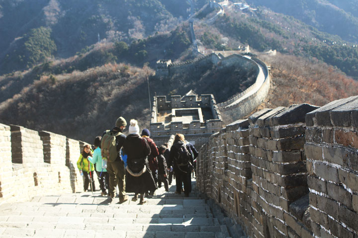 Great Wall Christmas Jiankou to Mutianyu Great Wall, 20108/12/25 photo #19