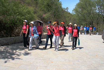 , Beijing Hikers Jinshanling Great Wall, May 07, 2011