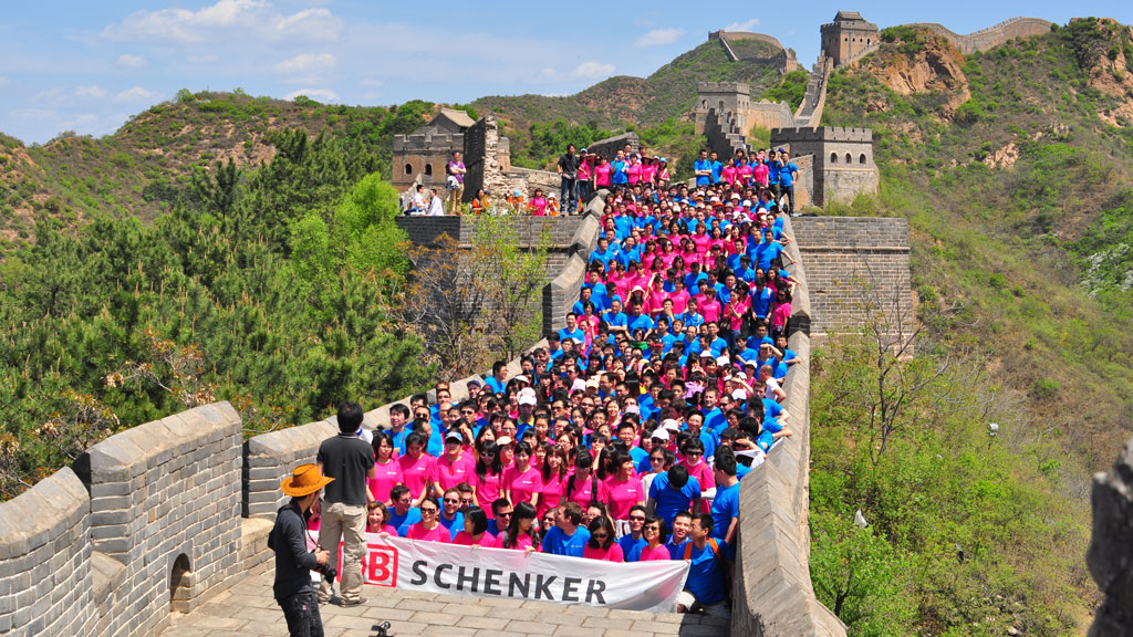 Schenker Jinshanling | 500-person photo on the Jinshanling Great Wall