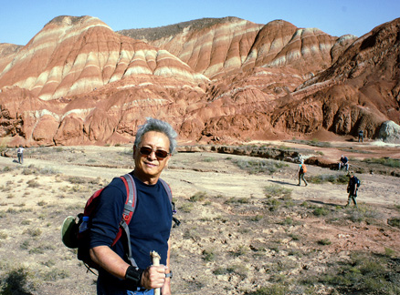 , Beijing Hikers Zhangye Danxia, October07, 2011