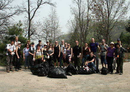 Beijing Hikers EarthDay, April, 2012