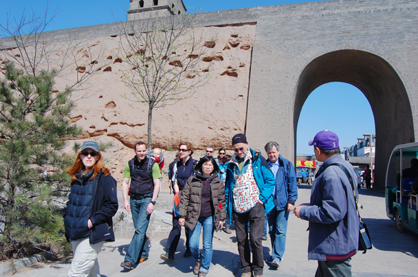 The city wall, Beijing Hikers Two days in Pingyao Ancient City , 2013/04/06