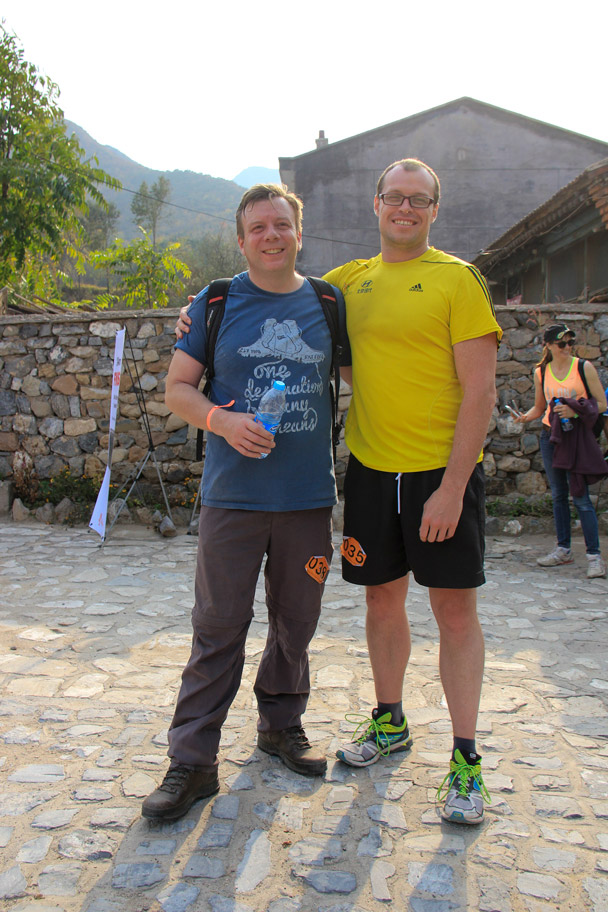 Two of the 24km finishers - Hike Fest 2015