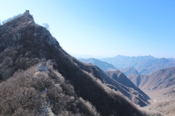 Ruined towers high in the hills - Jiankou Big West Great Wall, 2015/02/11