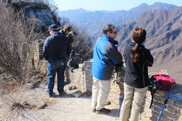 Good views here - Jiankou Big West Great Wall, 2015/02/11