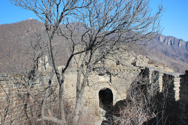 Looking back again - Jiankou Big West Great Wall, 2015/02/11