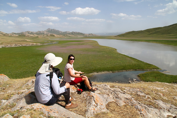 Good spot to take a rest - Bayinbuluke Grasslands, Xinjiang, July 2016