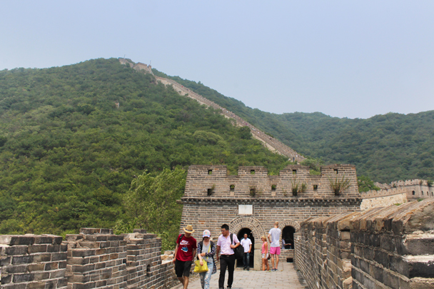 Views of the repaired Great Wall at Mutianyu - Jiankou to Mutianyu Great Wall, 2015/7/11
