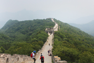 Jiankou to Mutianyu Great Wall, 2015/7/11