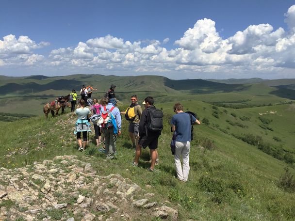 Up on top - Bashang Grasslands, August 2015