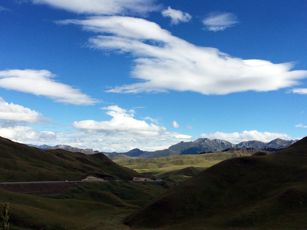Clouds and mountains - Xiahe, Labrang Monastery, and Zhagana, Gansu Province, September 2015