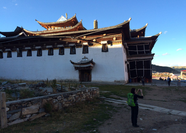 Langmu Temple - Xiahe, Labrang Monastery, and Zhagana, Gansu Province, September 2015