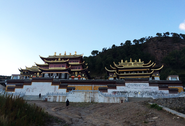 The Langmu temple on the Gansu side of the border - Xiahe, Labrang Monastery, and Zhagana, Gansu Province, September 2015