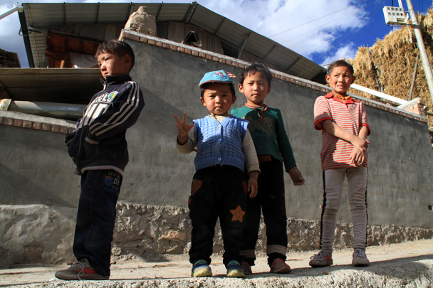 Local village kids - Xiahe, Labrang Monastery, and Zhagana, Gansu Province, September 2015