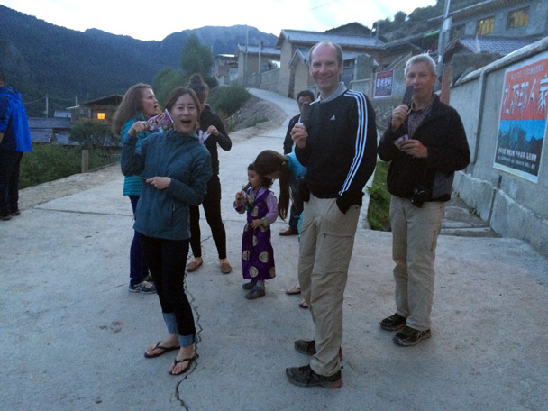 Lucky us finding some icecream! - Xiahe, Labrang Monastery, and Zhagana, Gansu Province, September 2015
