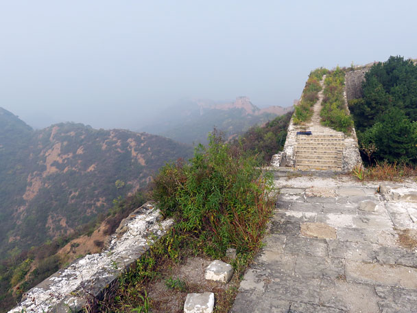 Jinshanling Great Wall in the morning - Camping at the Gubeikou Great Wall, 2015/10