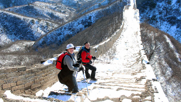 Hemp Village to Gubeikou Great Wall Hike, 2016/01/17