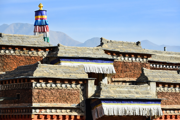 A small section of Labrang Monastery - Labrang Monastery and Tibetan New Year, 2016/02