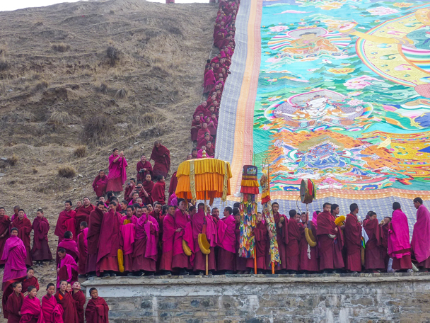 Another angle - Labrang Monastery and Tibetan New Year, 2016/02