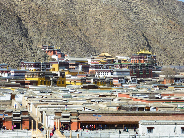 Long view of Labrang Monastery - Labrang Monastery and Tibetan New Year, 2016/02