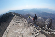 Jiankou to Mutianyu Great Wall, 2016/02/24